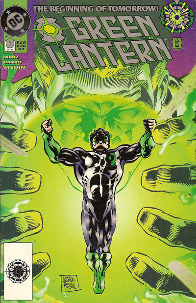 Cover for Green Lantern (DC, 1990 series) #0 [Direct Edition]