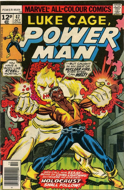 Cover for Power Man (Marvel, 1974 series) #47 [30¢ Cover Price]