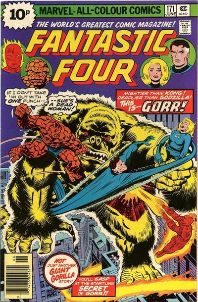 Cover for Fantastic Four (Marvel, 1961 series) #171 [Regular Edition]