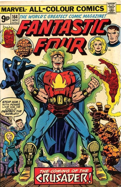 Cover for Fantastic Four (Marvel, 1961 series) #164 [Regular Edition]
