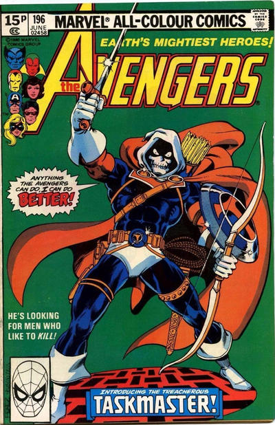 Cover for The Avengers (Marvel, 1963 series) #196 [Direct Edition]