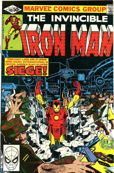 Cover for Iron Man (Marvel, 1968 series) #148 [Direct]