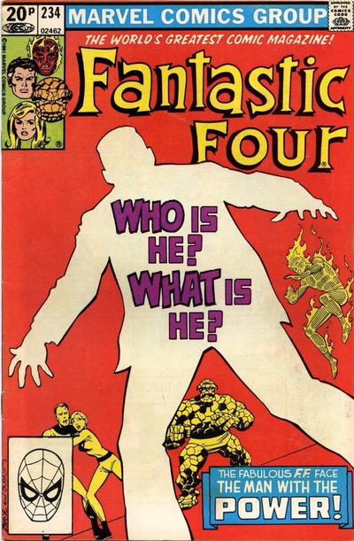 Cover for Fantastic Four (Marvel, 1961 series) #234 [Newsstand Edition]