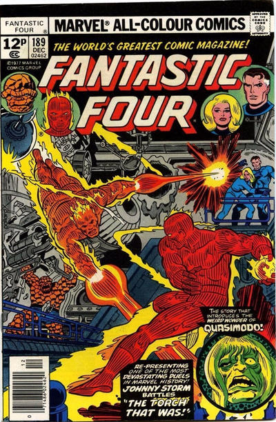 Cover for Fantastic Four (Marvel, 1961 series) #189 [Regular Edition]