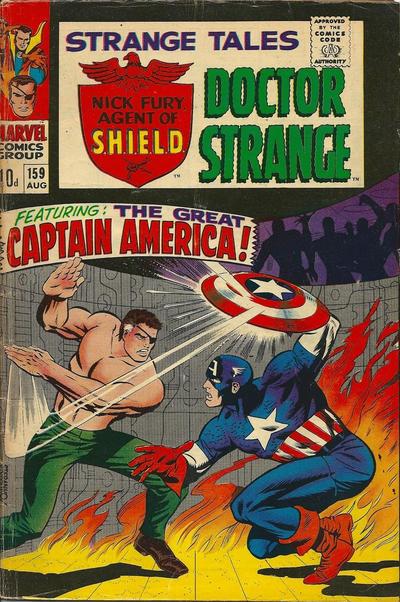 Cover for Strange Tales (Marvel, 1951 series) #159 [Regular Edition]