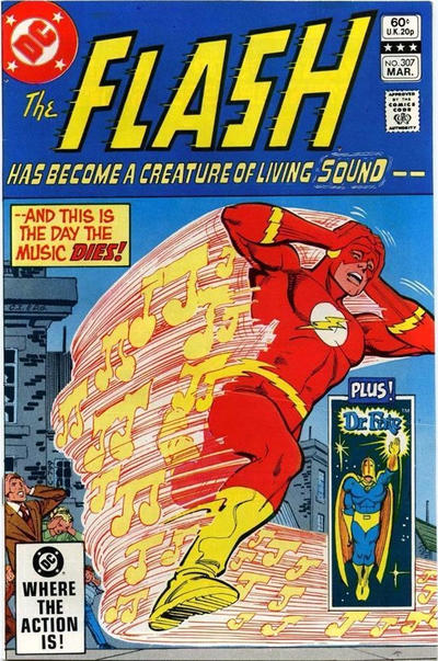 Cover for The Flash (DC, 1959 series) #307 [Direct Sales]