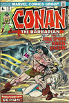 Cover for Conan the Barbarian (Marvel, 1970 series) #35 [British]