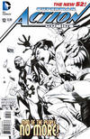 Cover for Action Comics (DC, 2011 series) #12 [Rags Morales Sketch Cover]