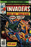 Cover for The Invaders (Marvel, 1975 series) #9 [British Price Variant]