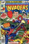 Cover for The Invaders (Marvel, 1975 series) #34 [British Price Variant]