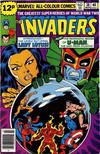 Cover for The Invaders (Marvel, 1975 series) #38 [British Price Variant]