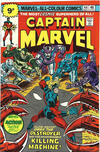 Cover Thumbnail for Captain Marvel (1968 series) #44 [British Price Variant]