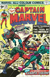 Cover for Captain Marvel (Marvel, 1968 series) #38 [British]