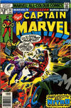 Cover for Captain Marvel (Marvel, 1968 series) #54 [Regular Edition]
