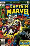Cover Thumbnail for Captain Marvel (1968 series) #54 [British Price Variant]