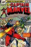 Cover for Captain Marvel (Marvel, 1968 series) #62 [British Price Variant]