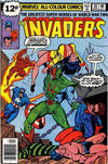 Cover for The Invaders (Marvel, 1975 series) #39 [British Price Variant]