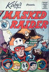 Cover Thumbnail for Masked Raider (1959 series) #5 [Kirby's Shoes]