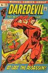 Cover for Daredevil (Marvel, 1964 series) #84 [British Price Variant]