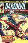 Cover for Daredevil (Marvel, 1964 series) #132 [British Price Variant]