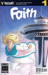 Cover for Faith (Valiant Entertainment, 2016 series) #1 [Cover L - Comics Dungeon - Kelly Matthews and Nicole Matthews]