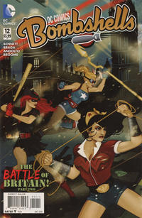 Cover Thumbnail for DC Comics Bombshells (DC, 2015 series) #12
