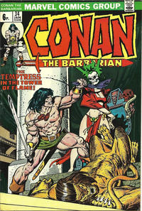 Cover for Conan the Barbarian (Marvel, 1970 series) #34 [Regular Edition]