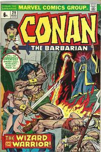 Cover Thumbnail for Conan the Barbarian (Marvel, 1970 series) #29 [British]