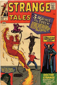Cover for Strange Tales (Marvel, 1951 series) #122 [Regular Edition]