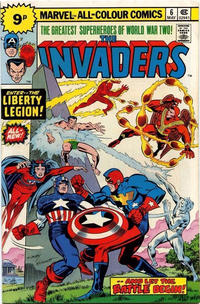 Cover Thumbnail for The Invaders (Marvel, 1975 series) #6 [British]