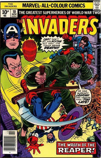Cover Thumbnail for The Invaders (Marvel, 1975 series) #10 [British]