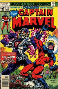 Cover for Captain Marvel (Marvel, 1968 series) #55 [Regular Edition]