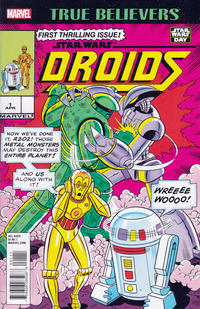 Cover Thumbnail for True Believers: Droids (Marvel, 2016 series) #1