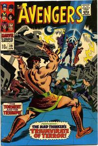 Cover for The Avengers (Marvel, 1963 series) #39 [Regular Edition]