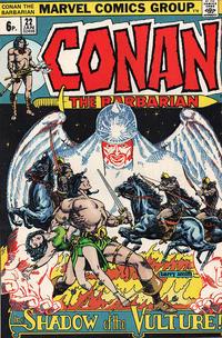 Cover Thumbnail for Conan the Barbarian (Marvel, 1970 series) #22 [British]