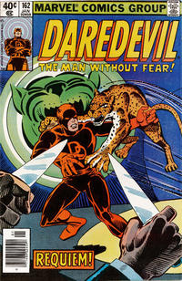 Cover Thumbnail for Daredevil (Marvel, 1964 series) #162 [Newsstand]
