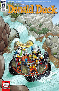 Cover Thumbnail for Donald Duck (IDW, 2015 series) #13 / 380 [Subscription Cover Variant]