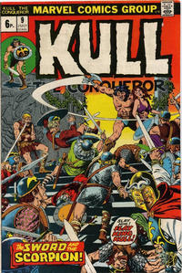 Cover Thumbnail for Kull the Conqueror (Marvel, 1971 series) #9 [British]