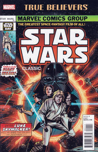 Cover Thumbnail for True Believers: Star Wars Classic (Marvel, 2016 series) #1