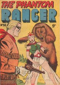 Cover Thumbnail for The Phantom Ranger (Frew Publications, 1948 series) #58