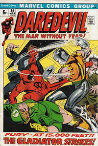 Cover Thumbnail for Daredevil (Marvel, 1964 series) #85 [British]