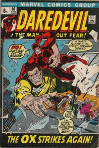 Cover Thumbnail for Daredevil (Marvel, 1964 series) #86 [British]