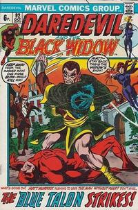 Cover Thumbnail for Daredevil (Marvel, 1964 series) #92 [British]