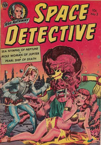 Cover Thumbnail for Space Detective (Superior, 1951 series) #3