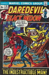 Cover Thumbnail for Daredevil (Marvel, 1964 series) #93 [British]