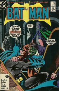 Cover Thumbnail for Batman (DC, 1940 series) #398 [Direct Sales Variant]