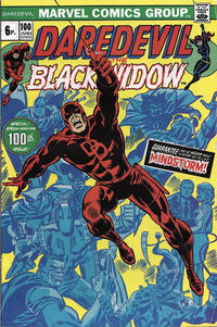 Cover Thumbnail for Daredevil (Marvel, 1964 series) #100 [British]