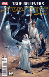 Cover Thumbnail for True Believers: Star Wars Covers (Marvel, 2016 series) #1