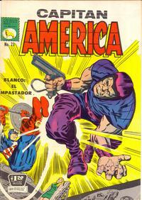 Cover Thumbnail for Capitán América (Editora de Periódicos La Prensa S.C.L., 1968 series) #23
