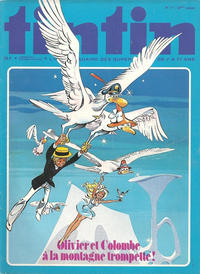 Cover Thumbnail for Le journal de Tintin (Le Lombard, 1946 series) #17/1977
